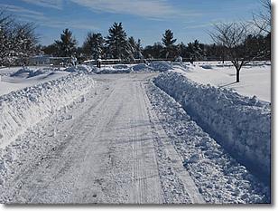 snow plowing carlisle ma